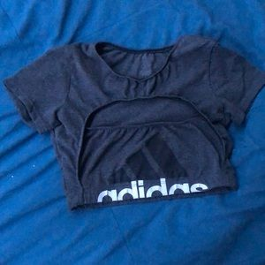 Adidas one of a kind crop top!